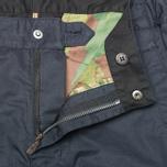 Мужские брюки Maharishi Tour Custom Cargo Organic Cotton Black/Navy фото- 2