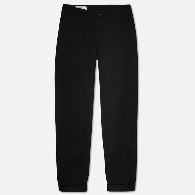 Мужские брюки Maison Kitsune Cotton Serge Worker Black