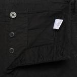 Maison Kitsune Cotton Serge Worker Men`s Trousers Black photo- 4