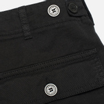 Maison Kitsune Cotton Serge Worker Men`s Trousers Black photo- 2