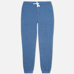 Мужские брюки Norse Projects Ro Solid Brushed Blue Melange фото- 0