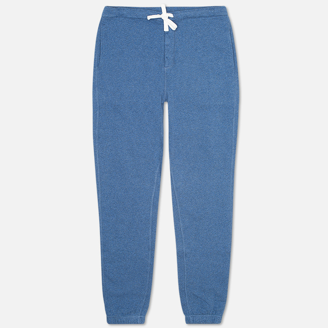 Norse Projects Ro Solid Brushed Men`s Trousers Blue Melange