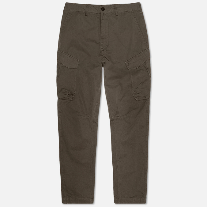 Мужские брюки Stone Island Shadow Project Cargo Gabardine Co Dark Olive