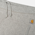 Женские брюки Carhartt WIP X' Porter Sweat Grey Heather/Florida фото- 2