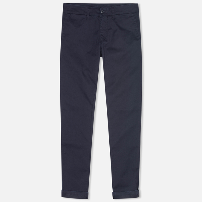 Женские брюки Carhartt WIP X' Sid Lamar Stretch Twill Duke Blue Rinsed