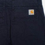 Женские брюки Carhartt WIP X' Sid Lamar Stretch Twill Duke Blue Rinsed фото- 1