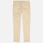 Carhartt WIP X' Sid Lamar Stretch Twill Women's Trousers Safari Rinsed photo- 0