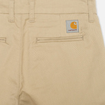 Женские брюки Carhartt WIP X' Sid Lamar Stretch Twill Safari Rinsed фото- 1