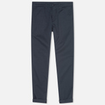 Женские брюки Carhartt WIP X' Sid Trabuco Stretch Twill Duke Blue Rinsed фото- 0