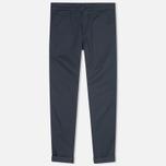 Женские брюки Carhartt WIP X' Sid Trabuco Stretch Twill Duke Blue Rinsed фото- 0