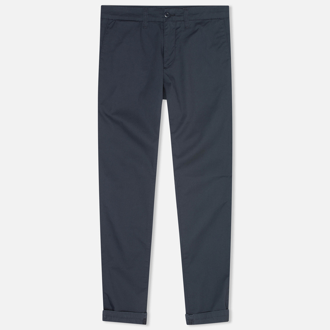 Женские брюки Carhartt WIP X' Sid Trabuco Stretch Twill Duke Blue Rinsed