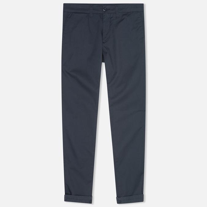 Женские брюки Carhartt WIP X' Sid Trabuco Stretch Twill Duke Blue Rinsed