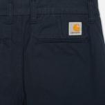 Женские брюки Carhartt WIP X' Sid Trabuco Stretch Twill Duke Blue Rinsed фото- 1