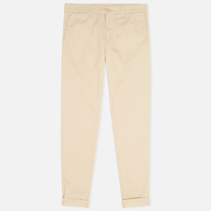 Женские брюки Carhartt WIP X' Sid Trabuco Stretch Twill Safari Rinsed