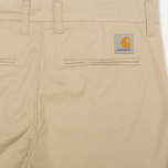 Женские брюки Carhartt WIP X' Sid Trabuco Stretch Twill Safari Rinsed фото- 1