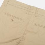 Женские брюки Carhartt WIP X' Sid Trabuco Stretch Twill Safari Rinsed фото- 3