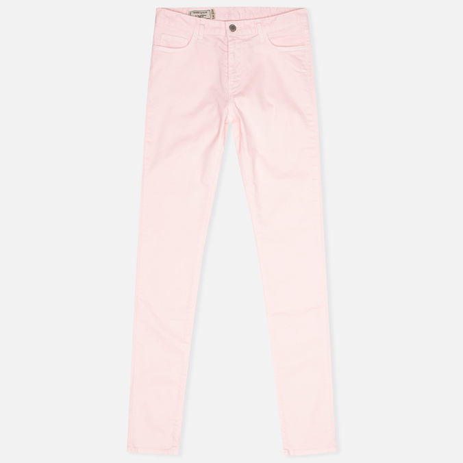 Maison Kitsune Casual New Skinny Women's Trousers Pink
