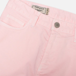 Maison Kitsune Casual New Skinny Women's Trousers Pink photo- 3