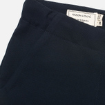 Женские брюки Maison Kitsune Crepe Fancy Dark Navy фото- 3