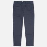 Женские брюки YMC Herringbone Twill Chino Navy фото- 0