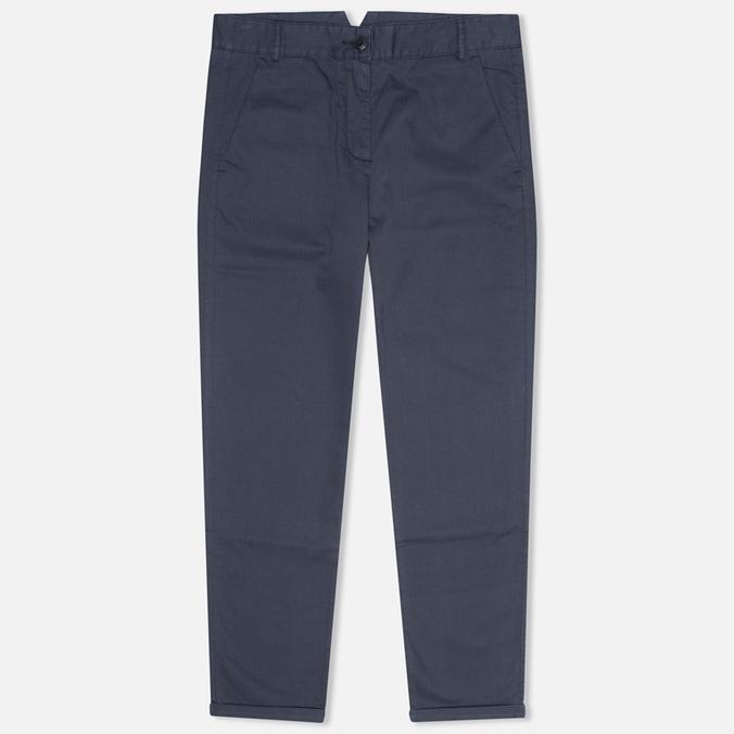 Женские брюки YMC Herringbone Twill Chino Navy