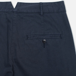 Женские брюки YMC Herringbone Twill Chino Navy фото- 1