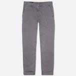 Мужские брюки Woolrich Classic Fit Chino Grey фото- 0
