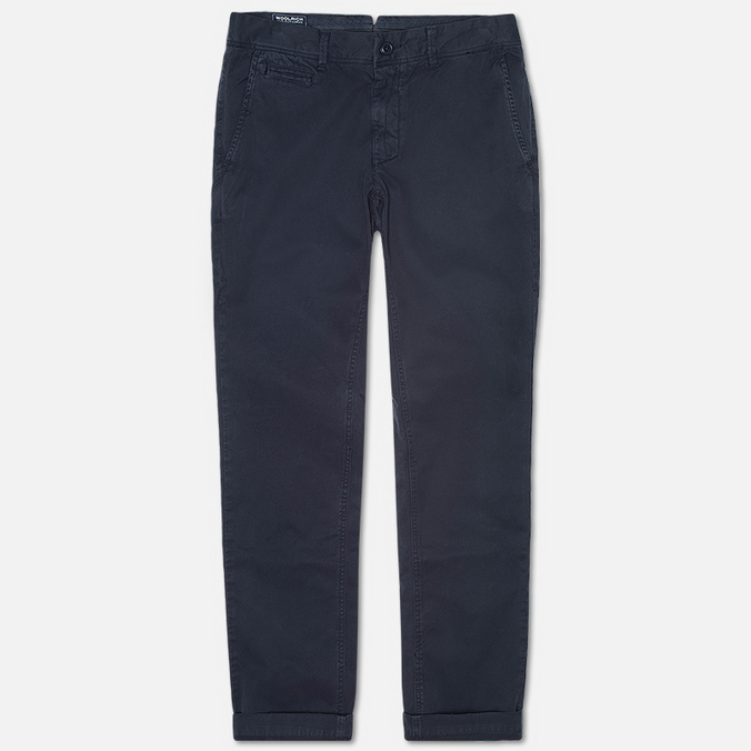 Мужские брюки Woolrich Classic Fit Chino Navy