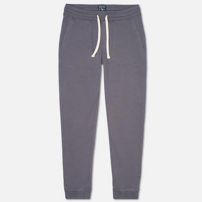 Woolrich Cuffed Fleece Men`s Trousers Grey
