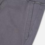 Woolrich Cuffed Fleece Men`s Trousers Grey photo- 2