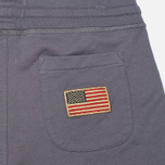 Мужские брюки Woolrich Cuffed Fleece Grey фото- 1