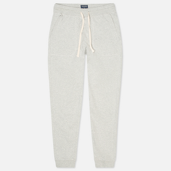Мужские брюки Woolrich Cuffed Fleece Light Grey