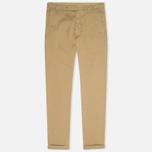 YMC Slim Fit Slender Legged Men`s Trousers Khaki photo- 0