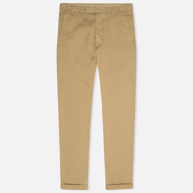 YMC Slim Fit Slender Legged Men`s Trousers Khaki