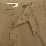 YMC Slim Fit Slender Legged Men`s Trousers Khaki photo- 2