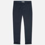 Мужские брюки YMC Slim Fit Slender Legged Navy фото- 0
