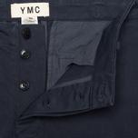 Мужские брюки YMC Work Chino Navy фото- 2