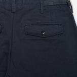 Мужские брюки YMC Work Chino Navy фото- 1