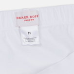 Мужские трусы Derek Rose Closed Jack Mid Brief White фото- 2