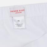 Мужские трусы Derek Rose Closed Jack Mid Brief White фото- 2