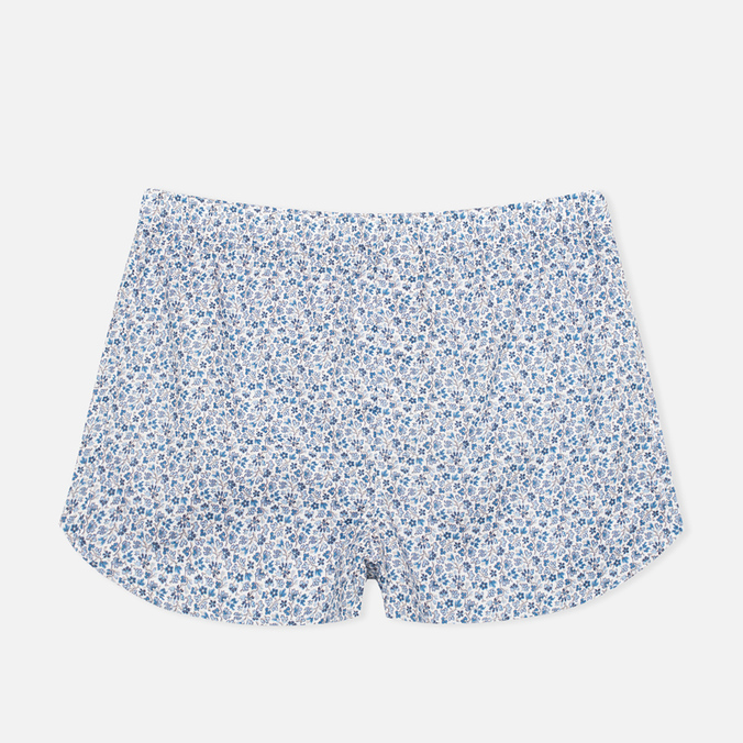 Мужские трусы Derek Rose 6050 Damask 6 Modern Fit Boxer Blue