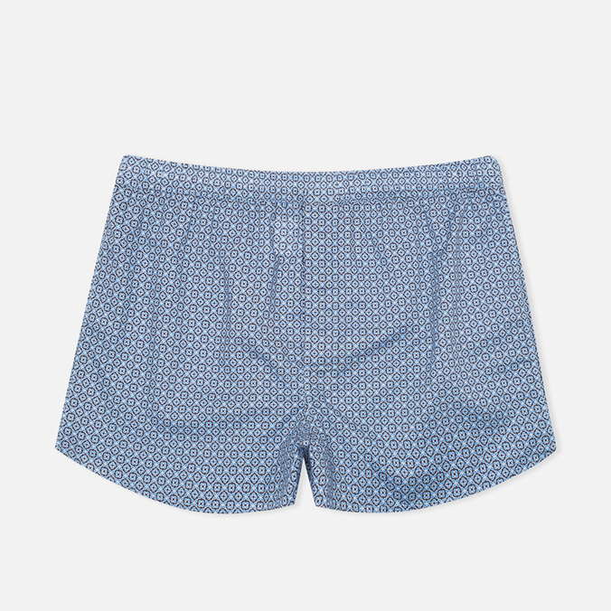 Мужские трусы Derek Rose 6050 Dixie 2 Modern Fit Boxer Navy