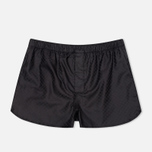 Мужские трусы Derek Rose 6050 Lombard 4 Modern Fit Boxer Black фото- 0