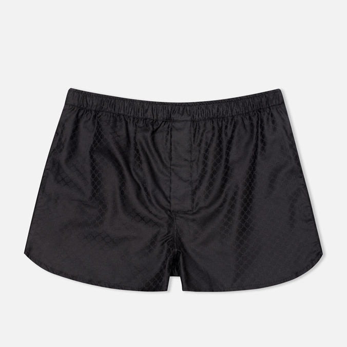 Мужские трусы Derek Rose 6050 Lombard 4 Modern Fit Boxer Black