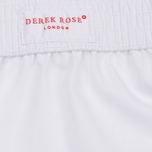 Derek Rose Savoy Classic Fit Men's Boxer Shorts White photo- 1