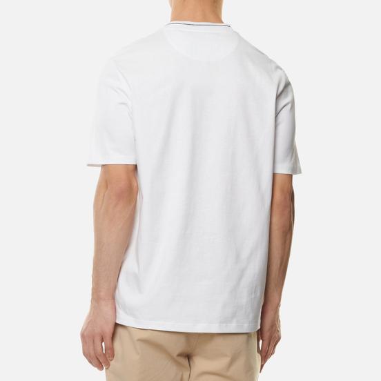 Мужская футболка Lyle & Scott Branded Ringer White