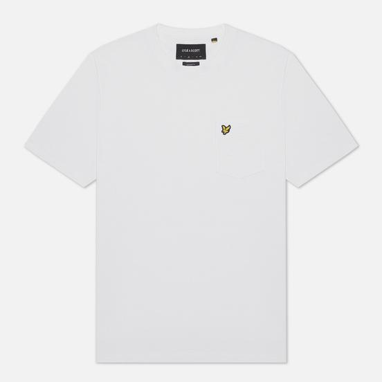 Мужская футболка Lyle & Scott Relaxed Pocket White