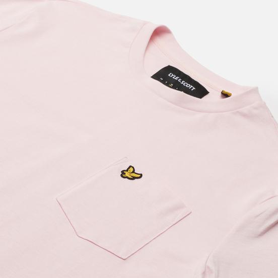 Мужская футболка Lyle & Scott Relaxed Pocket Stonewash Pink