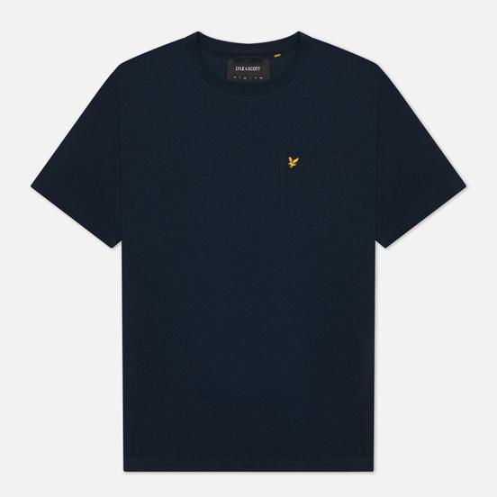 Мужская футболка Lyle & Scott Relaxed Pocket Dark Navy