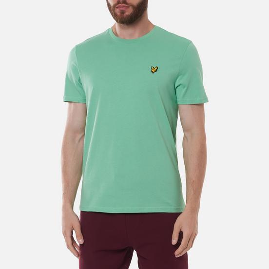 Мужская футболка Lyle & Scott Plain Regular Fit Sea Mint